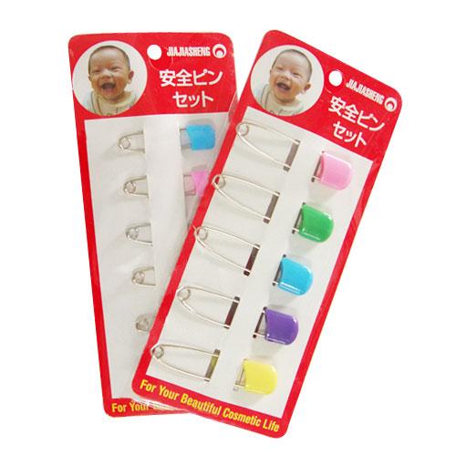【奇買親子購物網】兒童安全別針5入(小)-台灣製