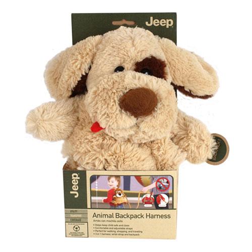 【奇買親子購物網】JEEP 防走失動物背包/可愛動物防走失背包-(狗/羊)