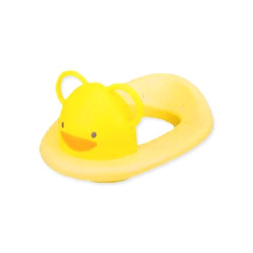 【奇買親子購物網】黃色小鴨造型馬桶輔助便器(黃/白)