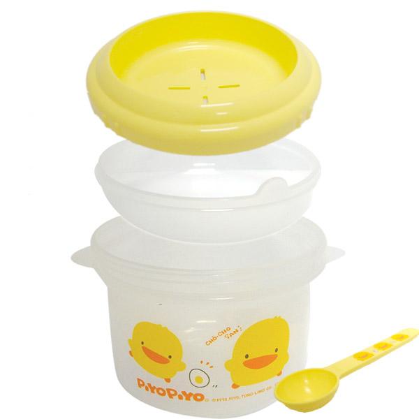 【奇買親子購物網】黃色小鴨  稀飯調理盒(微波爐專用)