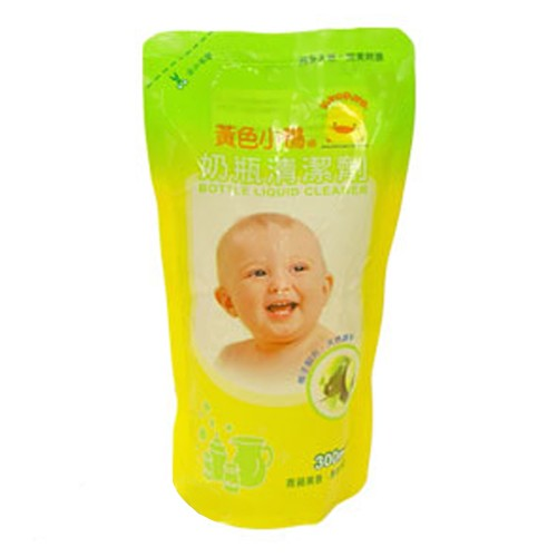【奇買親子購物網】黃色小鴨  奶瓶清潔劑補充包