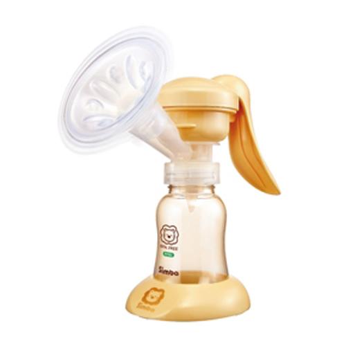 【奇買親子購物網】小獅王辛巴simba舒壓式旋轉手動吸乳器