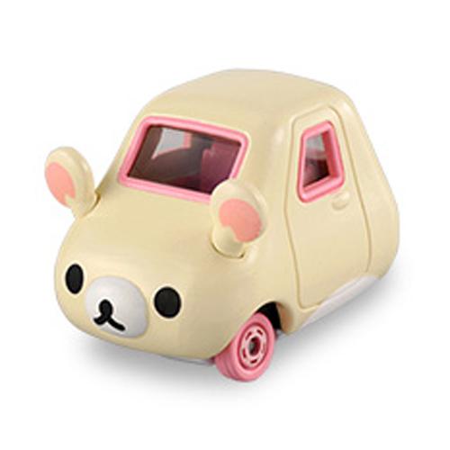 【奇買親子購物網】(155)Dream TOMICA 牛奶熊/拉拉熊三輪車(白色)