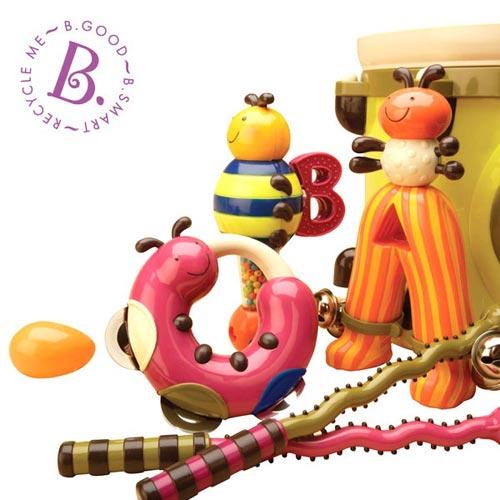 【奇買親子購物網】美國B.Toys 砰砰砰打擊樂團