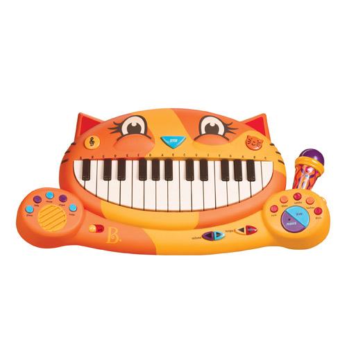 【奇買親子購物網】美國B.Toys 大嘴貓鋼琴