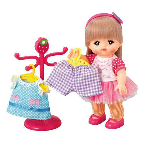 【奇買親子購物網】小美樂娃娃 長髮美樂衣服組