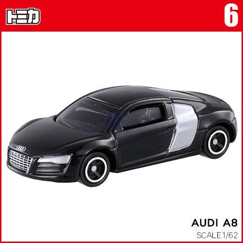 【奇買親子購物網】★【TOMICA】多美小汽車奧迪A8 NO.006_TM006