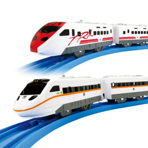 【奇買親子購物網】PLARAIL鐵道王國 普悠瑪與太魯閣列車