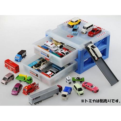 【奇買親子購物網】【TAKARA TOMY】TOMICA-新停車場收納盒