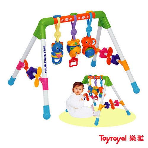 【奇買親子購物網】樂雅Toy Royal新四腳健力架
