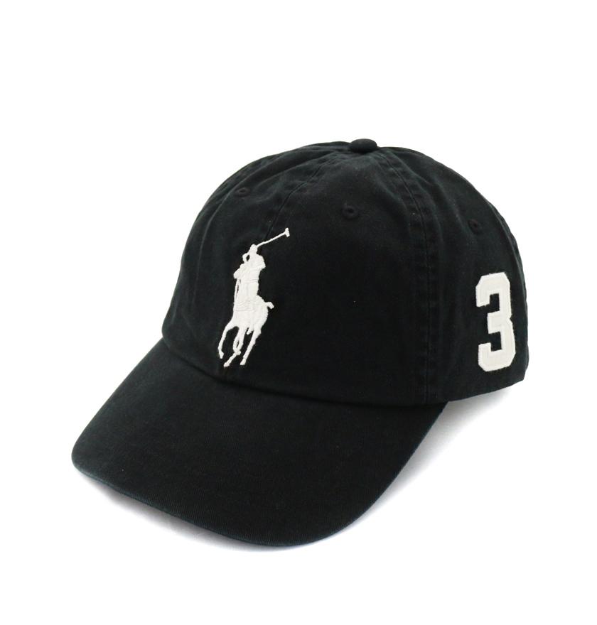 BEETLE PLUS 全新 商品 POLO RALPH BASEBALL CAP 全黑 黑底 馬球 大LOGO 可調式 老帽 棒球帽 MN-420