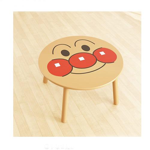 【真愛日本】16063000002木製圓桌-AP大臉    Anpanman 麵包超人  桌子  生活用品 家具擺飾