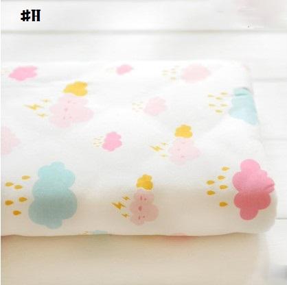 嬰兒【精梳棉】床包。嬰兒床單。嬰兒床罩-H可愛雲朵