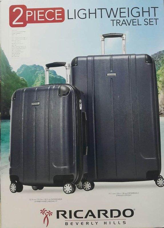 易集GO商城- RICARDO行李箱組LUGGAGE SET 28+20 吋2件組(藍色)-567037