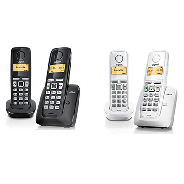 Gigaset 德國數位子母型無線電話機 白色 A220DUO **免運費**