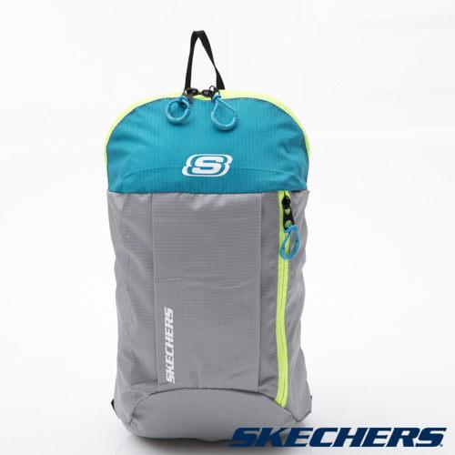 [陽光樂活] SKECHERS MINI 輕便 耐用 小後背包  - S11838 灰