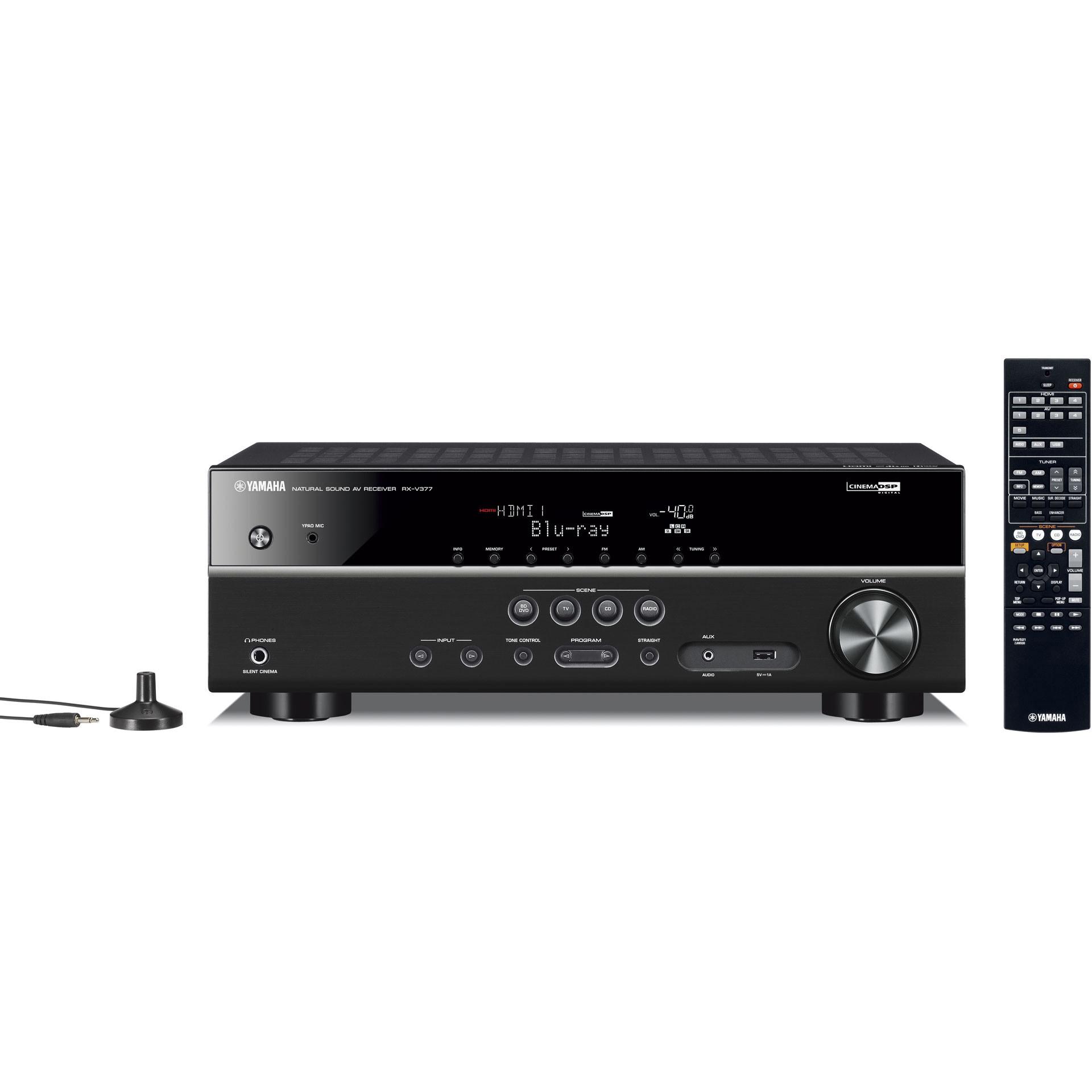 YAMAHA 5.1聲道 AV影音綜合擴大機 RXV377