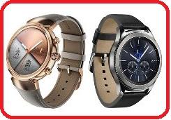 ASUSZenwatch3 WI503Q-1RGRY0010 煙燻黑 / WI503Q-2RBGE0012 象牙白 智慧手錶璀璨分秒