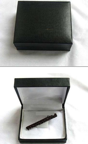★草魚妹★領帶夾盒子裝領夾盒子,直購價80元