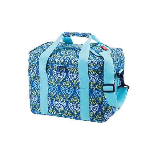 【露營趣】中和 Coleman CM-22226 15L 藍葉圖騰保冷袋 冰桶 行動冰箱 保溫袋 野餐籃 保冰袋