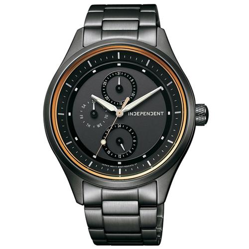 CITIZEN 星辰錶 INDEPENDENT KB1-244-53 太陽能手錶
