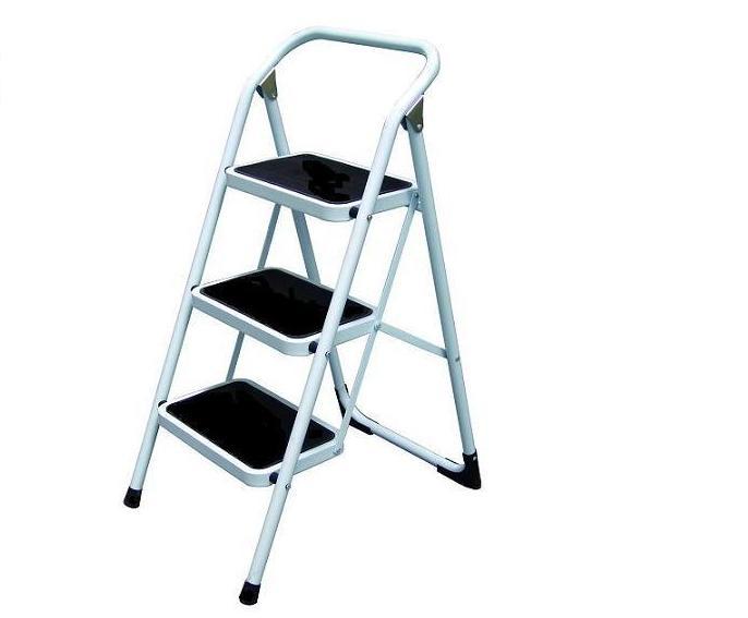 金梯屋LH-03鐵梯  大踏板3階工作梯 扶手梯 折疊梯