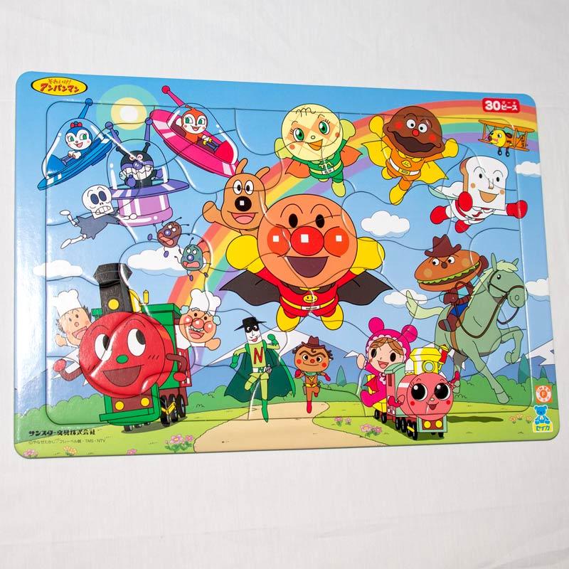 麵包超人 30片 拼圖+畫板 3歲以上 日本帶回正版品