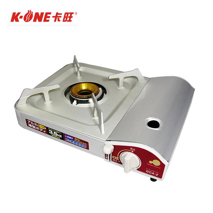 K-ONE卡旺 Greenwood GCA-2攜帶式卡式爐(膠箱) / 城市綠洲 (日本設計、爐具、火鍋、烹煮)