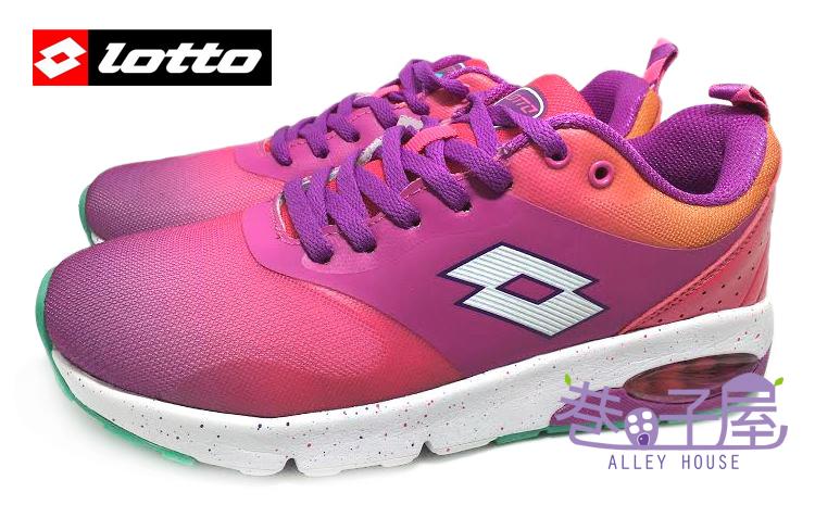 【巷子屋】義大利第一品牌-LOTTO樂得 女款渲染蝶型能量避震運動慢跑鞋 [3473] 粉 超值價$690