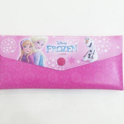 冰雪奇緣 艾莎 安娜 ELSA ANNA 筆袋  鉛筆盒 收納袋 可展開 文具 韓國製 正版韓國進口 JustGirl