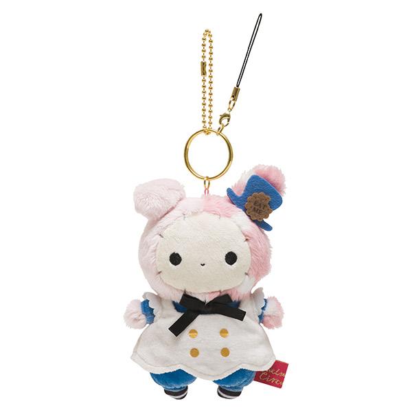 【蜜多麗夢想本舖】日本 San-X 憂傷馬戲團絨毛 娃娃 鑰匙圈 吊飾 愛麗絲夢遊仙境系列