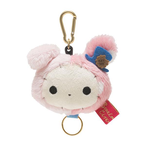 【蜜多麗夢想本舖】日本 San-X 憂傷馬戲團 絨毛 伸縮 鑰匙圈 吊飾 愛麗絲夢遊仙境系列