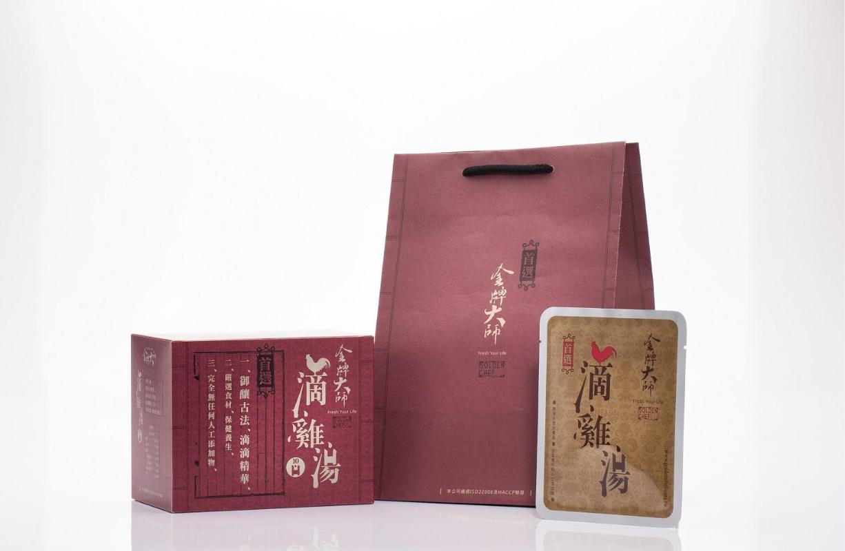 金牌大師滴雞精1盒(10包)