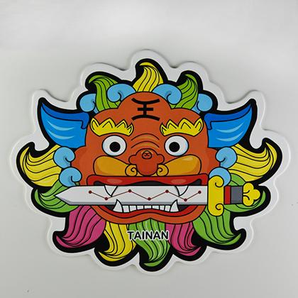 【〒台灣神】台灣旅行明信片。台南劍獅★GRAPHIC POST CARD★