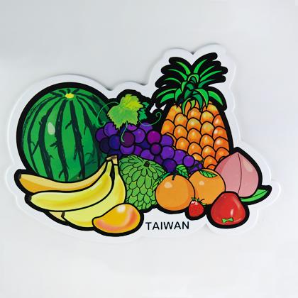 【〒台灣神】台灣旅行明信片。台灣水果王國★GRAPHIC POST CARD★