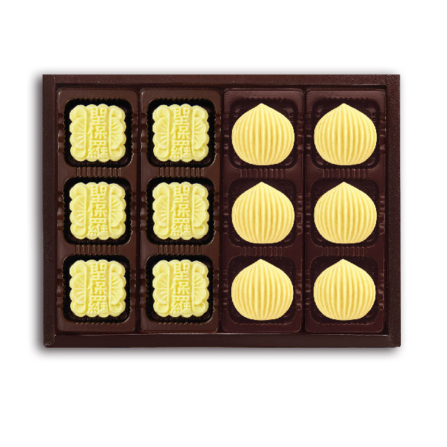 聖保羅烘焙花園 綜合綠豆糕12入禮盒