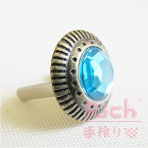 【原價16元,特價12元】扣環A24-5022古銅水鑽-1.5cm