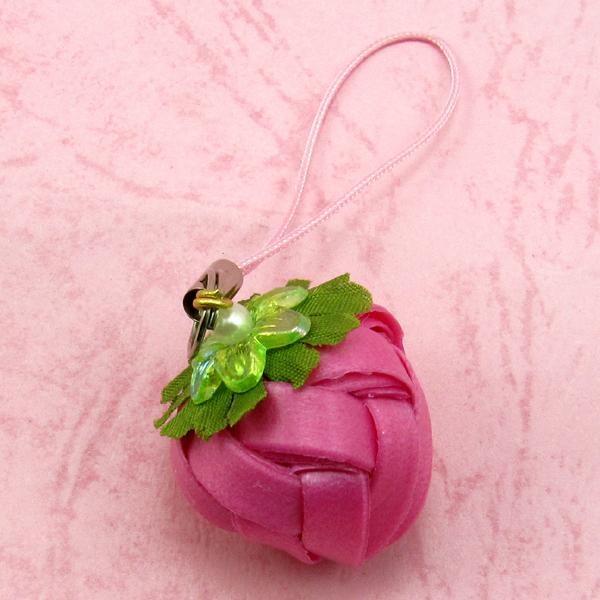 草莓吊飾-小-6mm-【材料包】多色可選