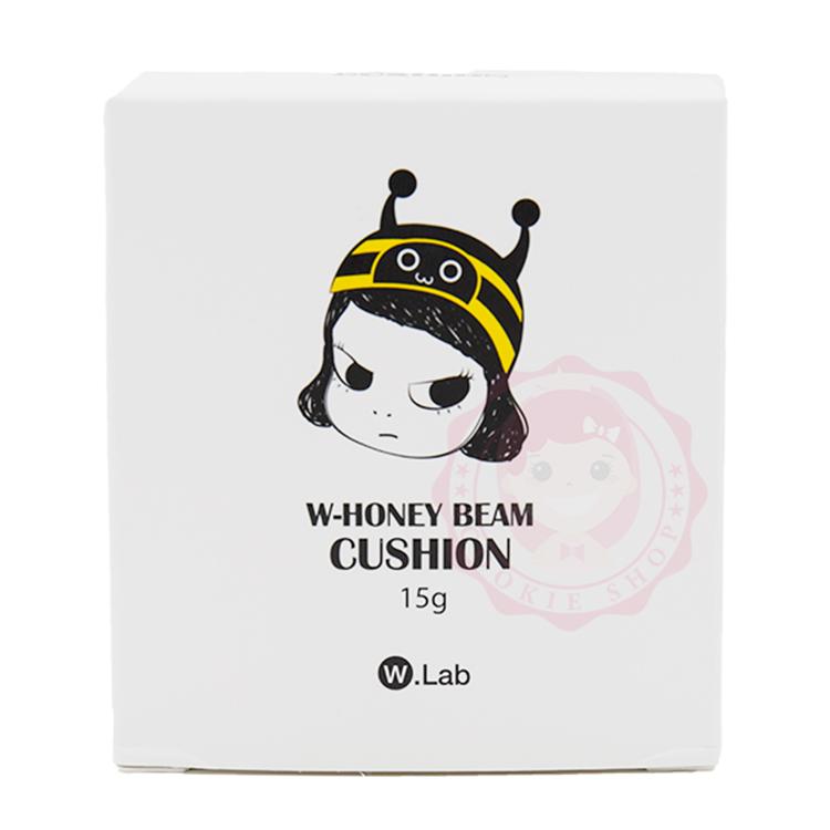 韓國 W.Lab 蜂蜜滋潤保濕CC氣墊水凝霜/粉餅(15g)【庫奇小舖】