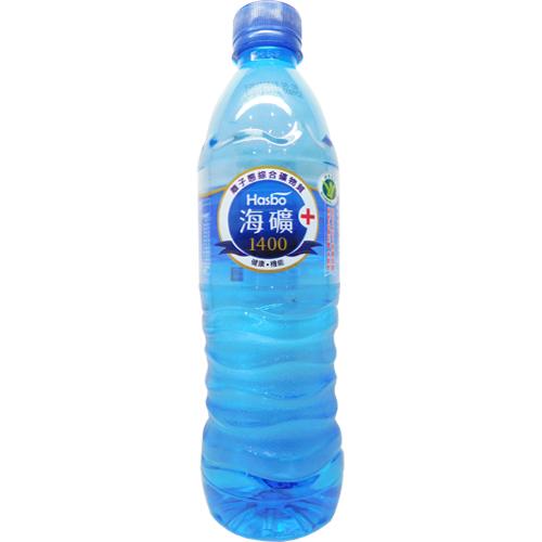 海之寶Hasbo-海礦1400逆滲透水 600ml/瓶*12瓶/箱
