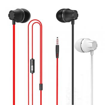 Ultimate- SeeHot 入耳式耳機麥克風可音量調整 MHS260 嘻哈部落 入耳塞式耳機 線控耳機 麥克風 聖誕交換禮物