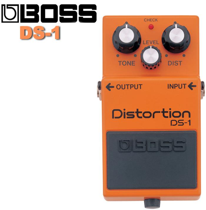 【非凡樂器】BOSS 失真破音/過載效果器DS-1 Distortion經典款 DS1/贈導線