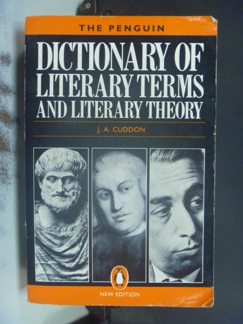【書寶二手書T4/原文書_NRC】The penguin dictionary..._J. A. Cuddon