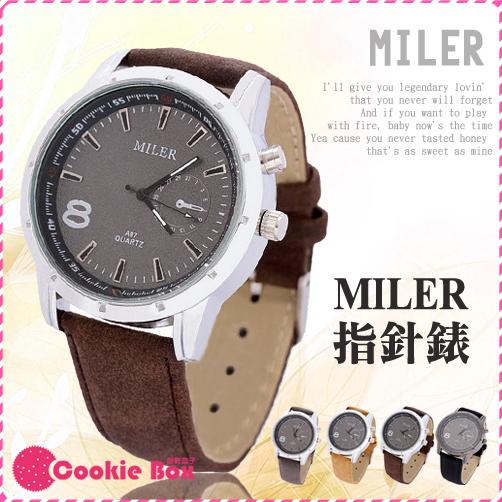 *餅乾盒子* MILER 米樂 手錶 Quartz Watch 對錶 女錶 男錶 經典 時尚款 流行 設計 手錶 腕錶
