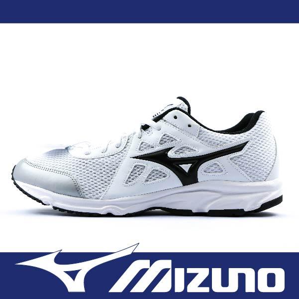 萬特戶外運動 MIZUNO K1GA170010 男慢跑鞋 MAXIMIZER 19 基本款 學生鞋 白黑色