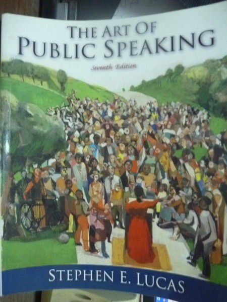 【書寶二手書T3/大學社科_QBL】The Art of Public Speaking_Lucas_7/e