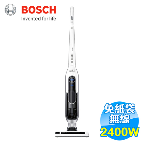 BOSCH 極效感應 無線 直立式 吸塵器 BCH6AT25TW