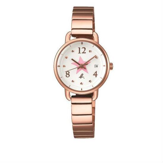 agnes b VJ22-KR80O(BH7009X1)手繪星彩時尚腕錶/白面26mm