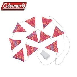[ Coleman ] LED串燈 紅 /  電子燈 裝飾燈 三角旗 / 公司貨 CM-22289