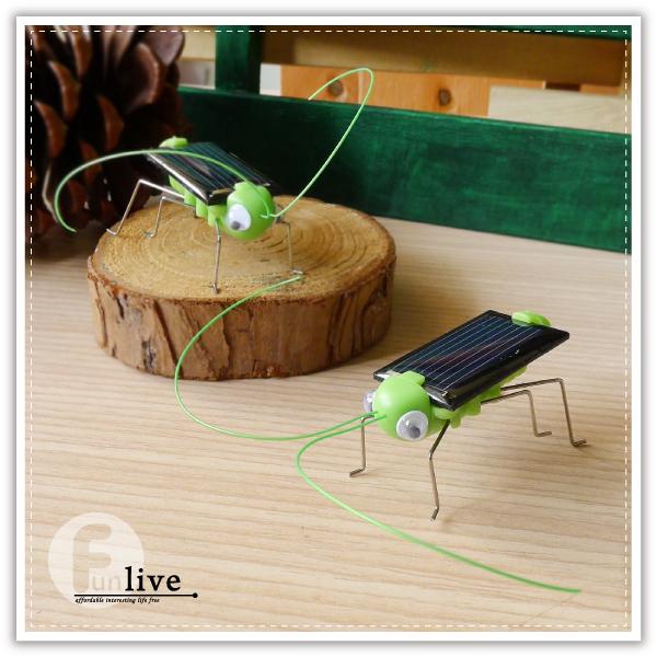 【aife life】太陽能蚱蜢/太陽能螞蚱/蝗蟲/太陽能玩具/益智玩具/環保玩具/整人玩具/科普教材
